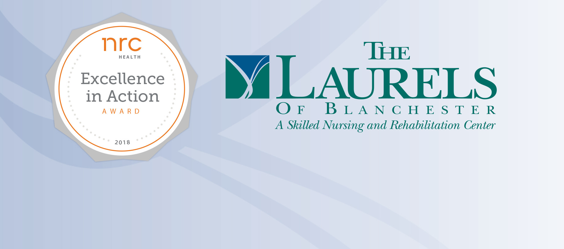 Laurels employee satisfaction award banner